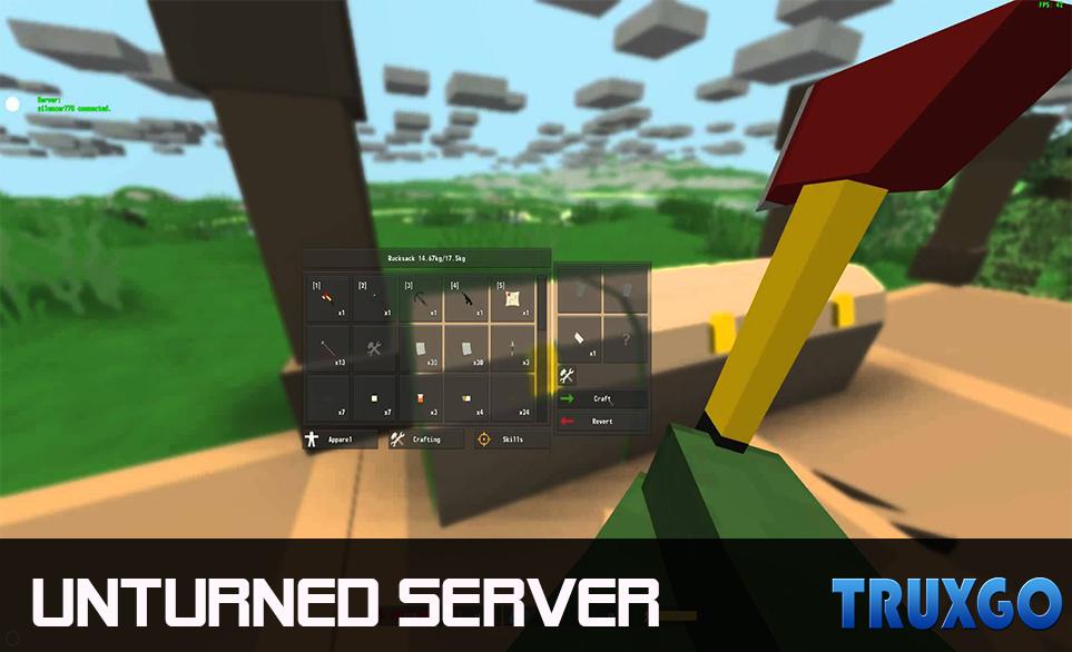 truxgo unturned servers